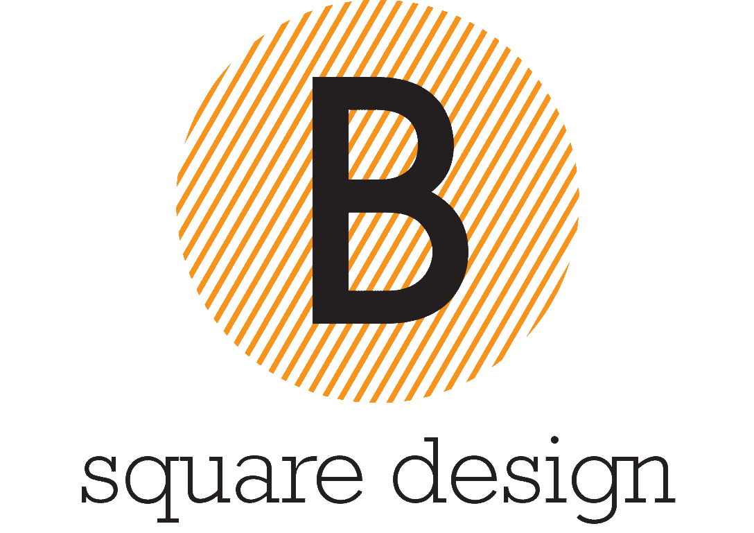 Logo B square design studio